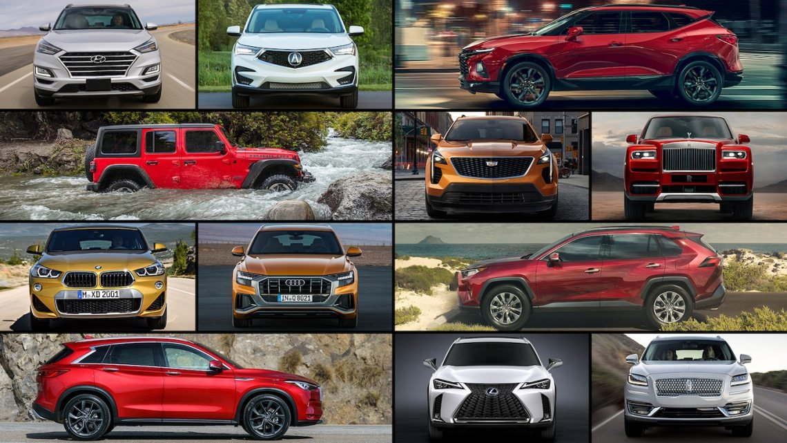 2019 new suvs: the ultimate buyer's guide - motor trend