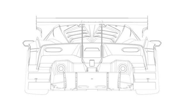 Lamborghini SCV12 patent images