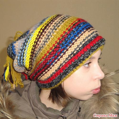 Вязаные шапки для девочек-подростков. - Вязание - Страна Мам