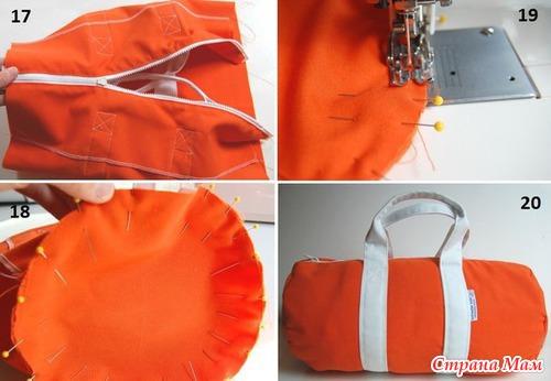 спортивные сумки выкройки Сумки
