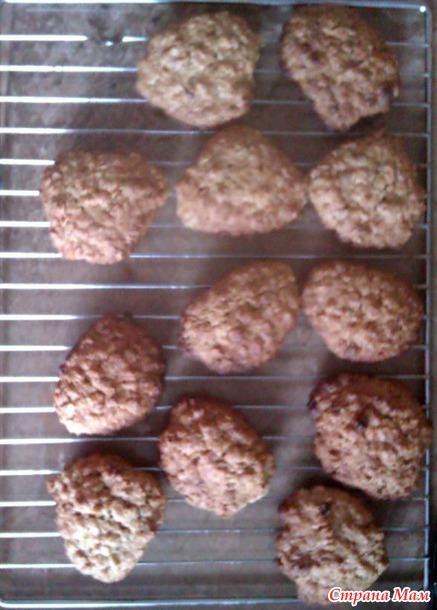 Овсяное печенье с корицей - Люблю готовить - Страна Мам