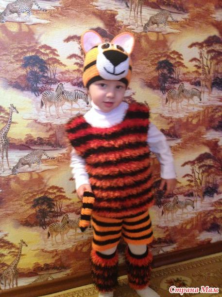 วิธีการทำเสือจากเด็ก เครื่องแต่งกายใน 5 นาที, ภาพถ่ายหมายเลข 8