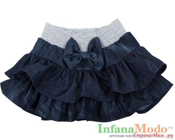 Помогите найти выкройку юбки с воланами для девочки Из