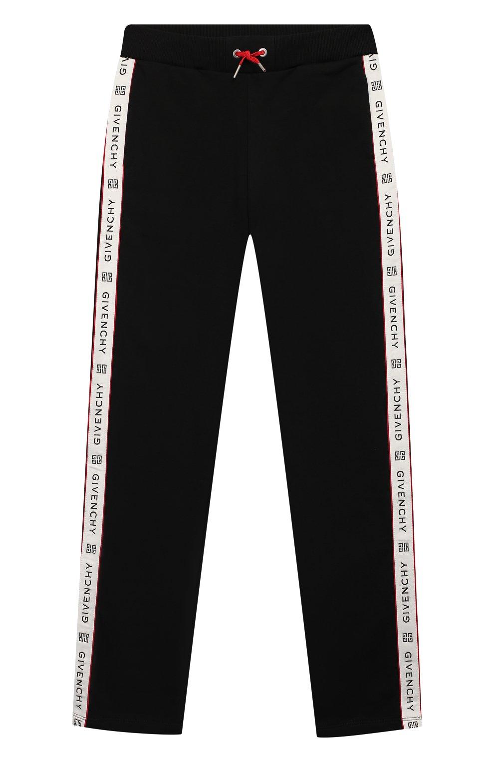 Хлопковые брюки GIVENCHY черного цвета — купить за 13800 ...