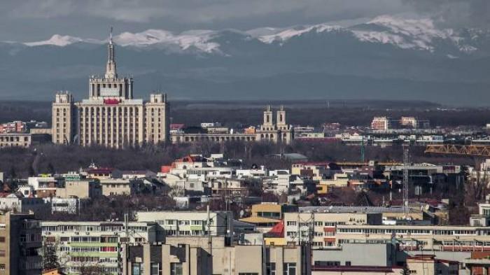 (foto) Fenomen rar: Munții Carpați, vizibili din București