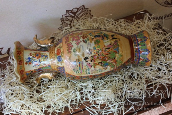 Ваза в Японских мотивах - «VIOLITY» Auction & Antiques