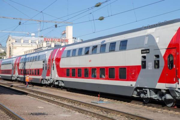Самара Москва Поезд Двухэтажный Фото