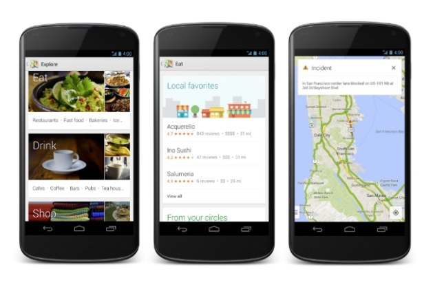 Redesigned Google Maps app for Android released  features new     Google maps final