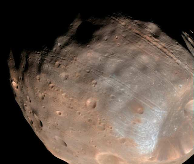 Nasa Scientists Are Closer To Solving The Mystery Of How Mars Moon Phobos Was Formed In Late November And Early December  Nasas Mars Atmosphere And