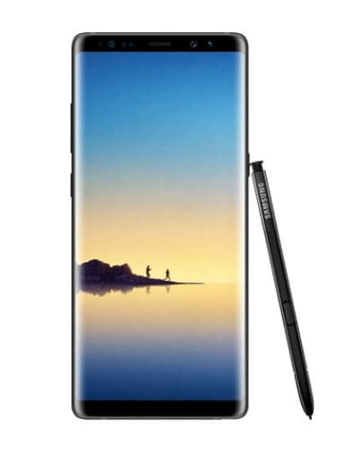 Samsung Galaxy Note 8  Amazon Freedom Sale: Deals on mobiles like OnePlus 6, Samsung Galaxy Note 8, Realme 1 and more samsung galaxy note 8 front