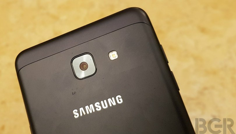 samsung galaxy on max hands on camera lens