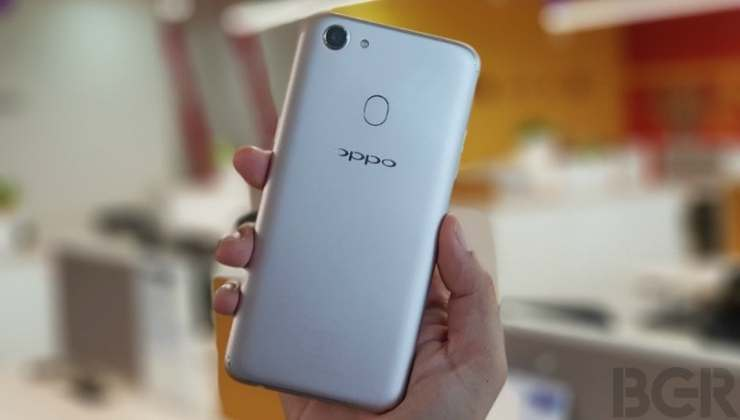 oppo f5 first impressions back