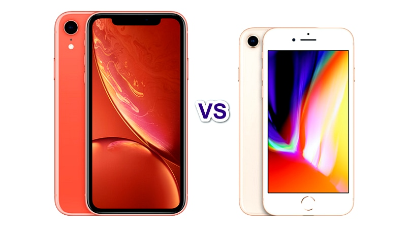 Apple iPhone XR vs iPhone 8: Here's what's different
