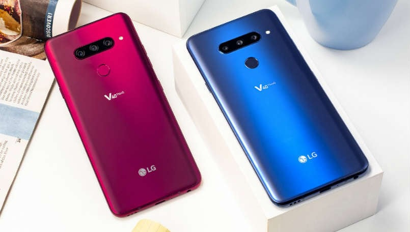 LG V40 ThinQ spotted on GeekBench running Android Pie