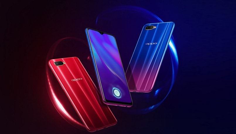 Oppo K1 with in-display fingerprint sensor, waterdrop notch launched in India: Price, offers, features