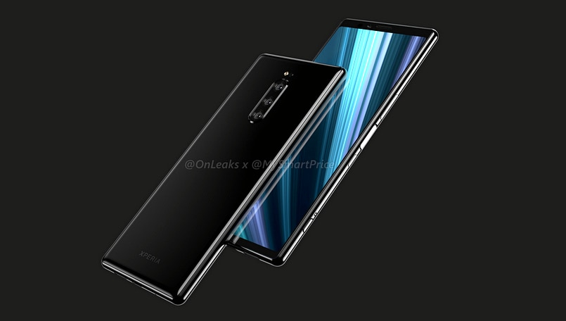 Sony Xperia XZ4 may have 6.5-inch notchless screen and tri-lens rear camera system, reveal renders