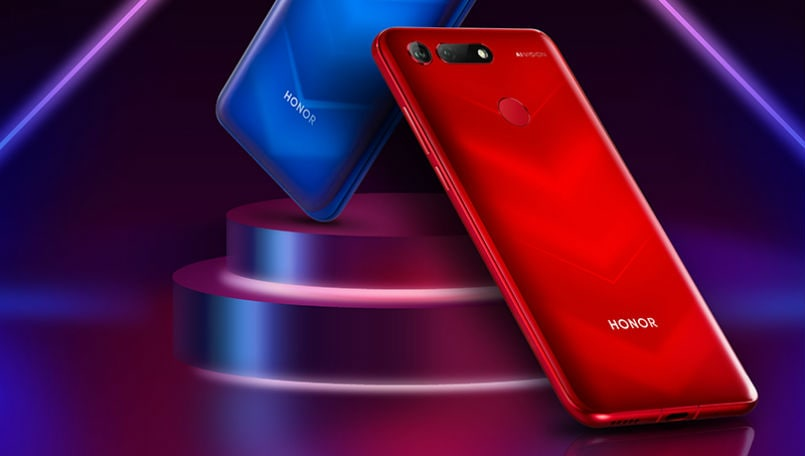 Honor V20 launched with 25-megapixel in-screen selfie camera: Price, specifications