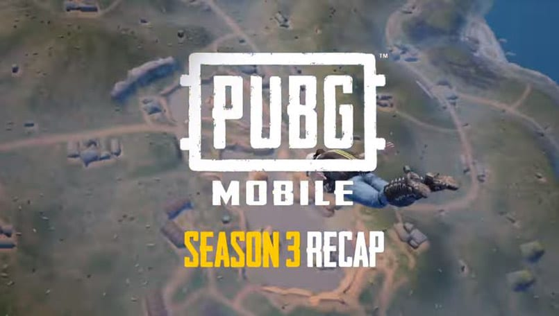 PUBG Mobile Season 3 recap video released, and it shows some incredible numbers