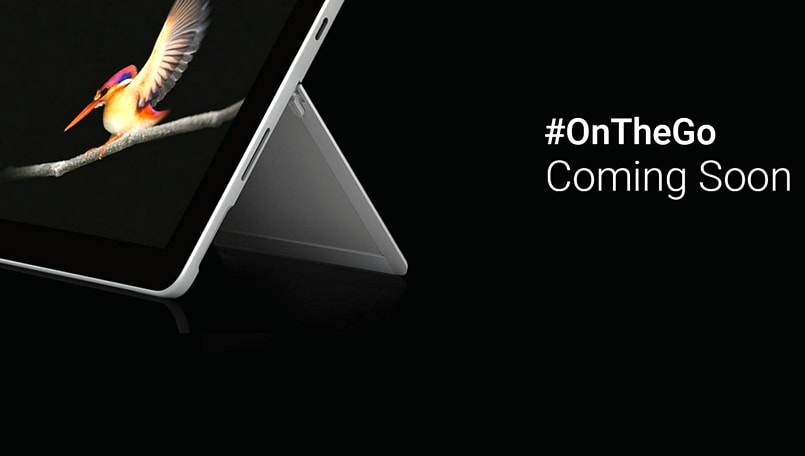 Microsoft's Surface Go may launch in India soon, teaser page goes live on Flipkart