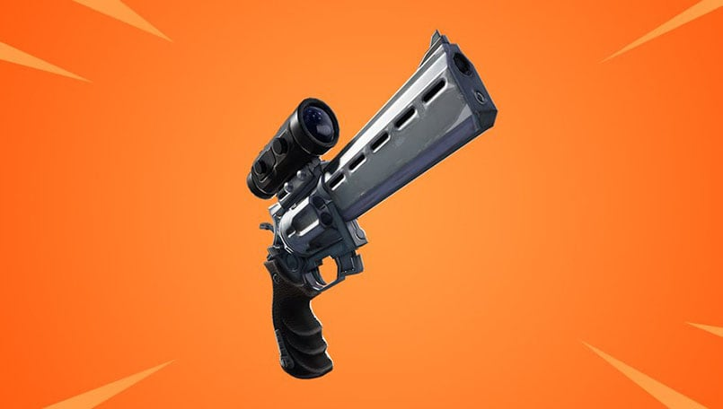 New Scoped Revolver weapon coming to Fortnite