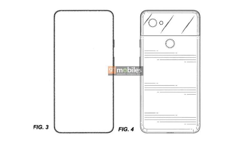 Google Pixel 4 design revealed in a patent; could sport full-screen display, single rear camera
