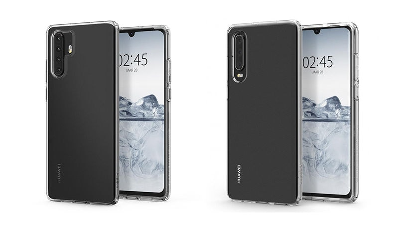 Huawei P30 Pro and P30 design leaks out on the internet leaving little to imagination