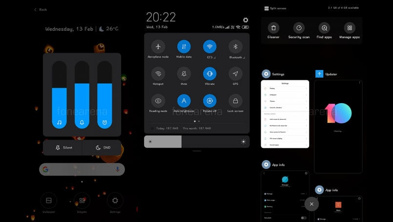 Xiaomi MIUI 10 Global ROM to get system-wide dark theme similar to Android Q