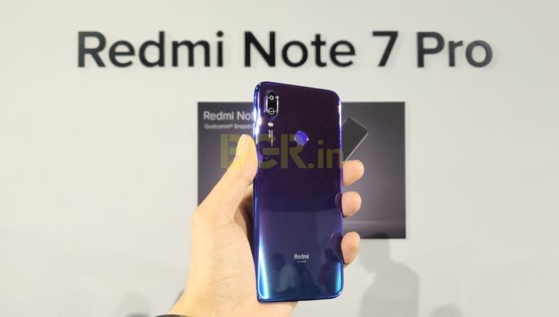 Xiaomi Redmi Note 7 Pro, Redmi Note 7 First Impressions: Refreshing design with aggressive pricing