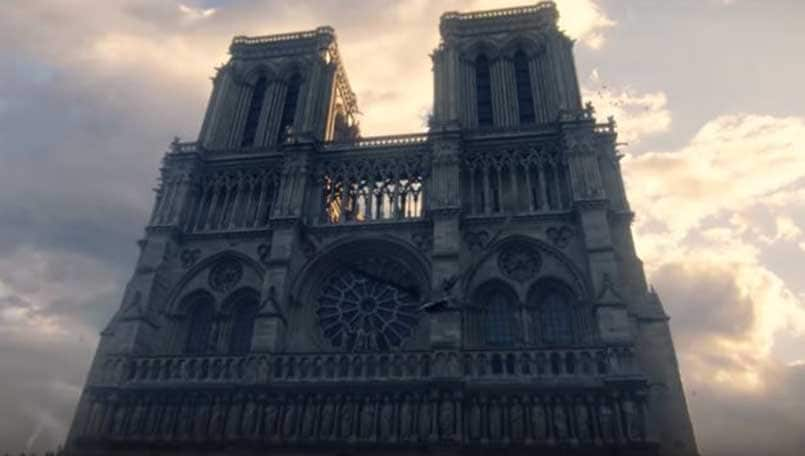 Assassin's Creed Unity may be used as a reference to rebuild Notre Dame Cathedral