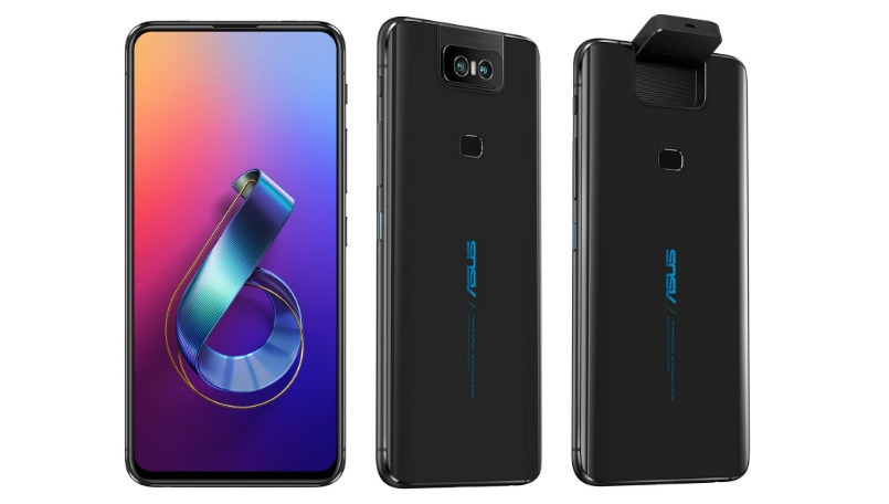 Asus Zenfone 6 renders leaked showing flip camera, full screen notch-less display