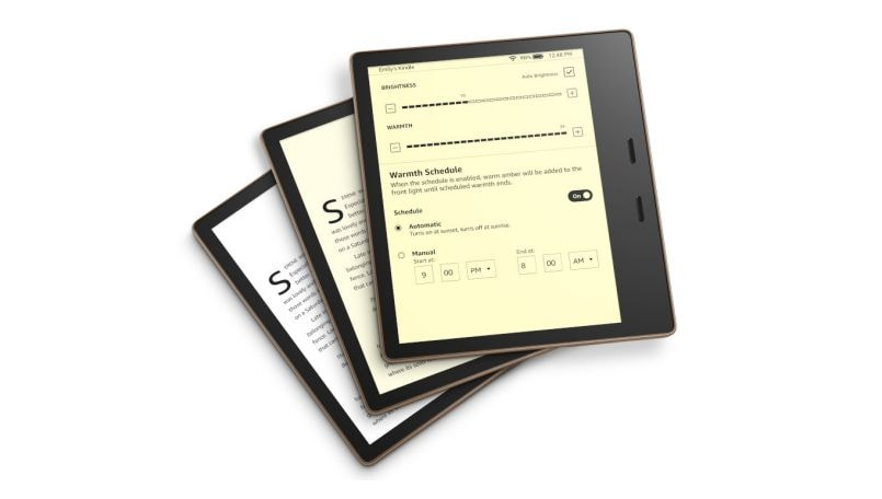 Amazon Kindle Oasis with adjustable warm light goes on sale in India