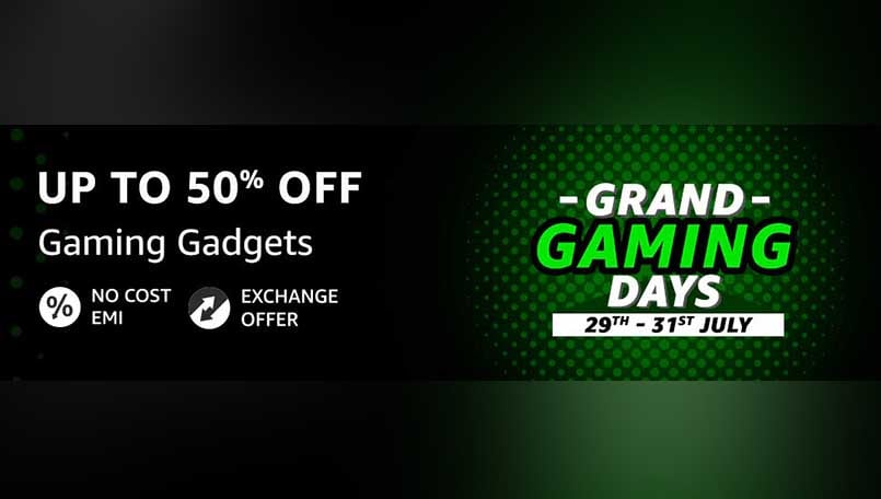 Amazon Grand Gaming Days Sale: Up to 50 percent off on Gaming Laptops, Accessories and others