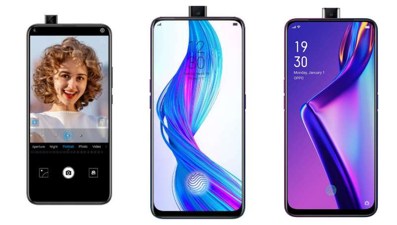 Huawei Y9 Prime (2019) vs Realme X vs Oppo K3: Price in India, features compared