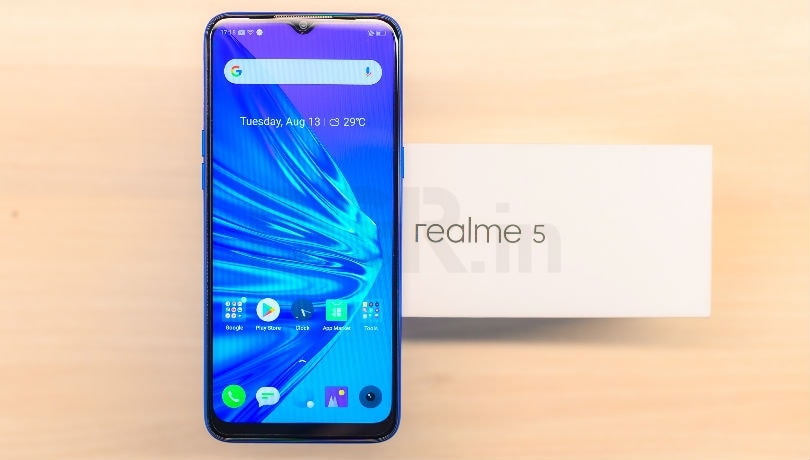 Realme 5 First Impressions: Quad cameras, 5,000mAh battery and more