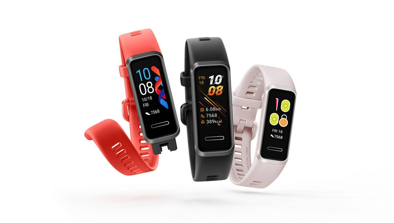 Huawei Band 4 launched with 0.96-inch display and USB Type-A connector
