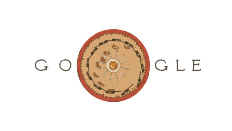 Google Doodle celebrates birthday of Plateau, whose research led to the birth of cinema