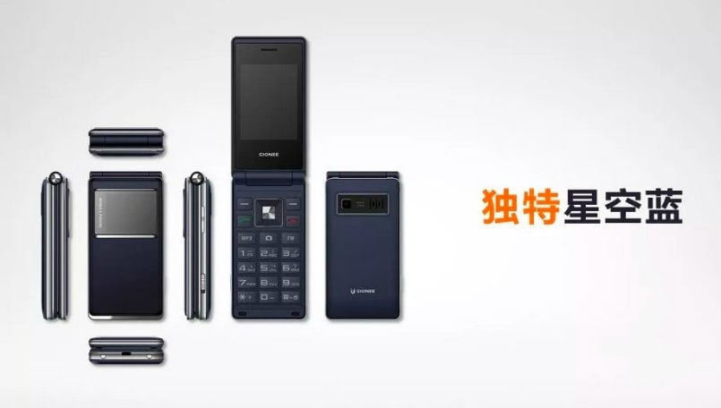 Meet Gionee A326, a new flip phone from the once bankrupt smartphone maker