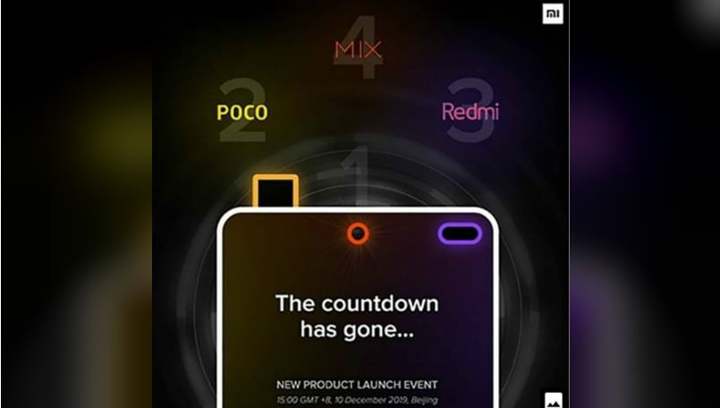Xiaomi launch: Poco F2, Mi MIX 4, Redmi K30 launch date revealed