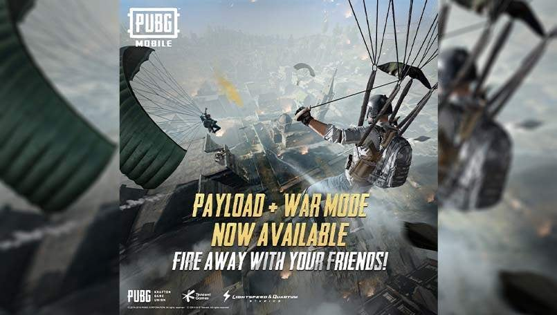 PUBG Mobile Payload Mode x War Mode introduced; players to battle it out in EvoGround mode