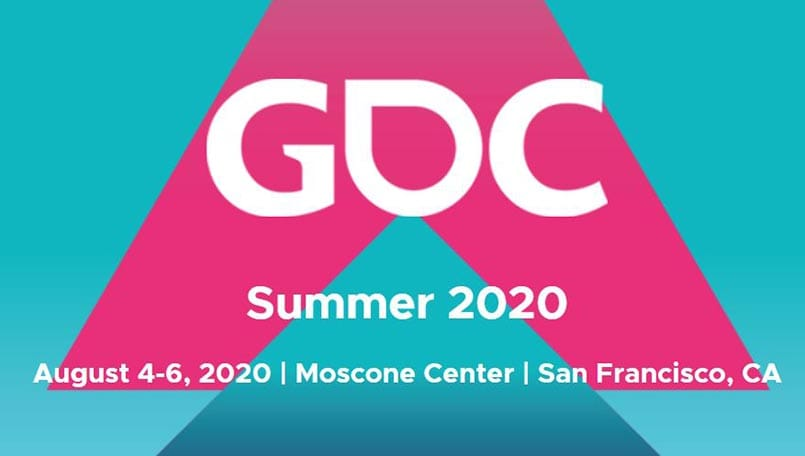 GDC 2020 new dates announced, to be held in the summer