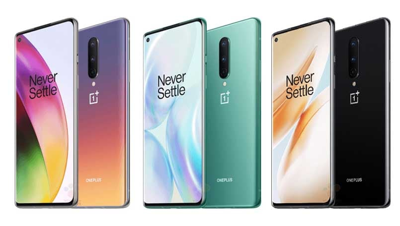 OnePlus 8 to come in new colors including 'Interstellar Glow'; more press renders leak