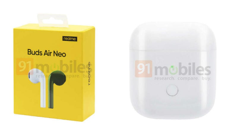 Realme Buds Air Neo leaked online, to be launched soon