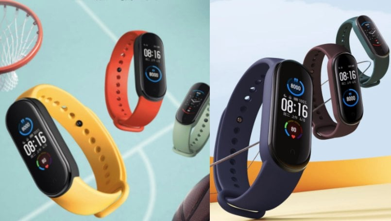 Mi Band 5 vs Mi Band 4 fitness band: Price, specifications compared
