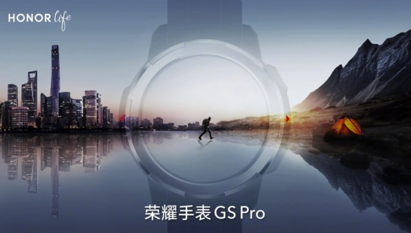 Honor Watch GS Pro teased online, targeted at mountain climbers
