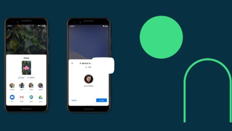 Google rolls out AirDrop-like file sharing feature for Android