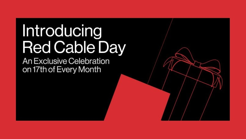 OnePlus Red Cable Day announced, exclusive offers every month on 17th