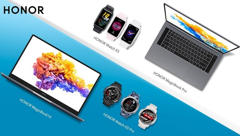 IFA 2020: Honor Smart Life reveals MagicBook Pro, Watch GS Pro, Watch ES, and more