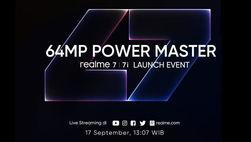 Realme 7i official launch set for September 17: Check expected specifications and other details