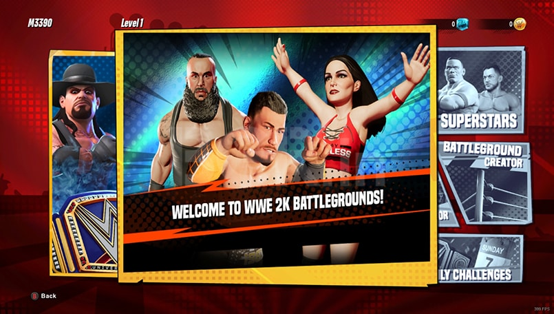 WWE 2K Battlegrounds First Impressions: A fun take on a WWE game