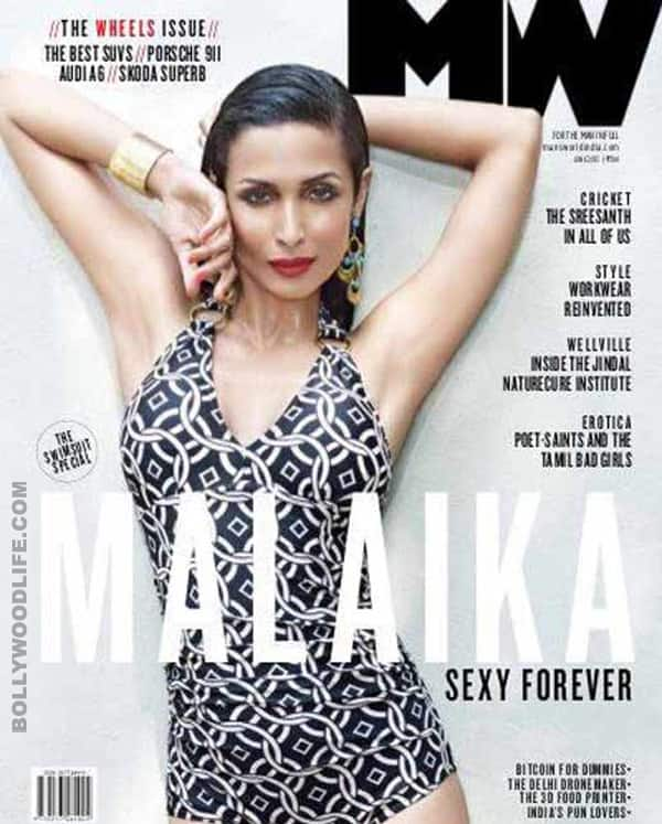 Malaika Arora Khan Looks Smokin Hot On The Cover Of Mans World